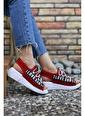 Riccon Kırmızı Kadın Sandalet 0012999 Kırmızı